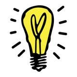 Lampadina di Electric Company di monopolio Immagine Stock Libera da Diritti