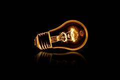 Lampadina di Lit, luce Fotografia Stock
