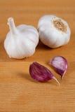 Lampadina e chiodi di garofano dell'aglio Immagine Stock Libera da Diritti