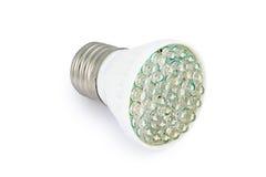Lampadina E27 del risparmio energetico LED Fotografia Stock