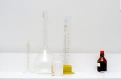 , Lampadina e tubo di misuratore Fotografie Stock