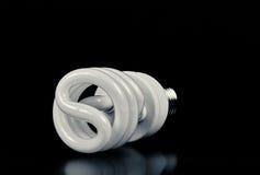 Lampadina economizzatrice d'energia CFL Fotografia Stock Libera da Diritti