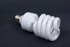 Lampadina fluorescente compatta Fotografia Stock