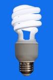 Lampadina fluorescente compatta Immagini Stock Libere da Diritti