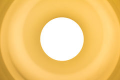 Lampadina gialla Fotografia Stock