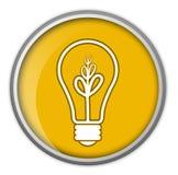 Lampadina, idea, commercio, informazioni Immagini Stock Libere da Diritti