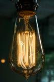 Lampadina incandescente Fotografia Stock Libera da Diritti