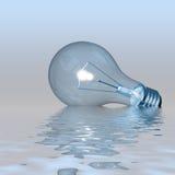 Lampadina luminosa Fotografie Stock Libere da Diritti
