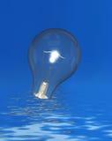 Lampadina luminosa Immagine Stock