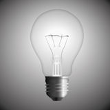 Lampadina. Nero-bianco Fotografie Stock Libere da Diritti