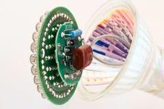 Lampadina rotta GU10 del LED Immagine Stock Libera da Diritti