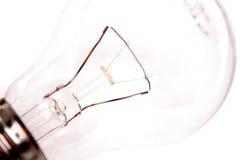 Lampadina trasparente Fotografia Stock Libera da Diritti