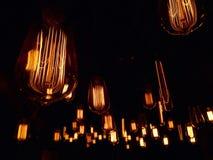 Lampadine del filamento Fotografie Stock Libere da Diritti