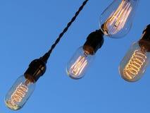 Lampadine di Edison Fotografia Stock Libera da Diritti