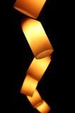 lampafläck Arkivfoto