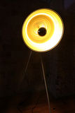 Lampan formar Arkivbild
