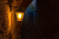 Lampan i slotten Royaltyfri Fotografi