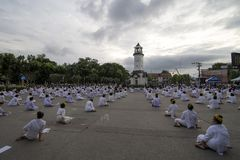 LAMPANG,泰国- 10月13,2017 免版税库存图片
