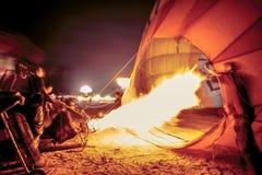 LAMPANG, ТАИЛАНД 10-ОЕ ФЕВРАЛЯ 2018: Фиеста 2018 воздушного шара Lampang Стоковая Фотография RF