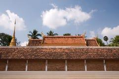 lampang luang phrathat泰国 库存照片