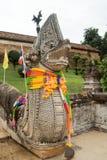 Lampang- Luang tempel Royaltyfria Bilder