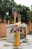 Lampang- Luang tempel Arkivbilder