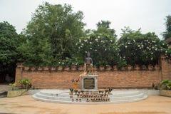 Lampang- Luang tempel Royaltyfria Foton