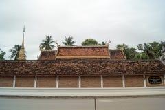 Lampang- Luang tempel Royaltyfri Foto