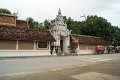 Lampang- Luang tempel Royaltyfri Bild