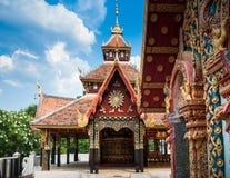 Lampang Pongsanook tempel, Thailand arkivfoton