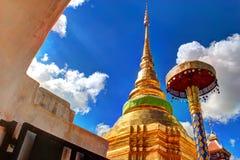 Lampang Tailandia de Wat Pong Sanuk fotos de archivo libres de regalías