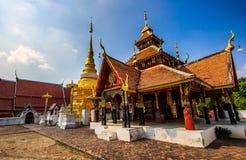 Lampang Tailandia di Wat Pong Sanuk Immagine Stock