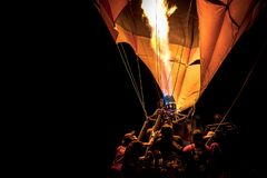 LAMPANG, THAÏLANDE LE 10 FÉVRIER 2018 : Fiesta 2018 de ballon de Lampang Image stock