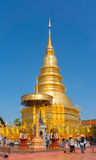 Lampang , Thailand- Nov 24, 2014: Amazing architecture of Wat Ph Stock Photos