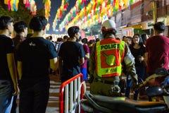 LAMPANG, THAILAND - am 22. November 2018: Die Ausführungsaufgaben lizenzfreie stockfotos