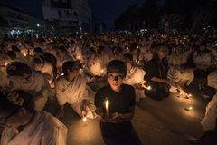 LAMPANG THAILAND - Oktober 13,2017 Arkivfoton