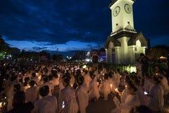 LAMPANG THAILAND - Oktober 13,2017 Fotografering för Bildbyråer
