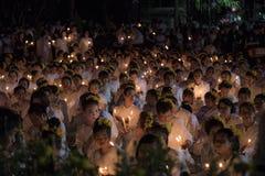 LAMPANG THAILAND - Oktober 13,2017 Arkivbilder