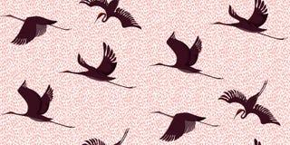 Lampartów żurawi wzór Fotografia Royalty Free