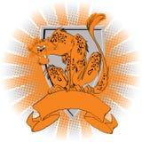 lampart royalty ilustracja