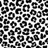 Lamparta druku tła bezszwowy wzór czarny white ilustracji