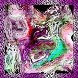 Lamparta tło Obraz Royalty Free