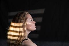 Lampasa cień Zdjęcie Stock
