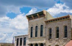 Lampasses,得克萨斯,小镇在中央得克萨斯 免版税库存图片