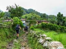 Lampata village - Nepal Stock Images