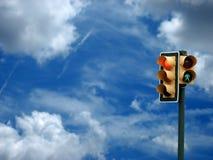 lampatrafik Royaltyfri Fotografi