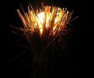 lampavståndstext Arkivfoto