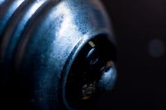 Lampbasis, macrofoto royalty-vrije stock foto