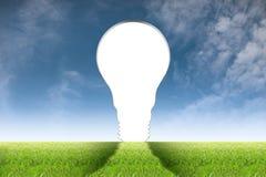 Lampdeur royalty-vrije stock foto