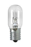 Lampe à incandescence de forme de cylindre d'isolement sur le Cl blanc de fond Photos stock